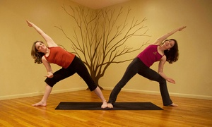 Liberty Yoga: 10 Yoga Classes or Two Months of Unlimited Yoga Classes at Liberty Yoga (Up to 80% Off)