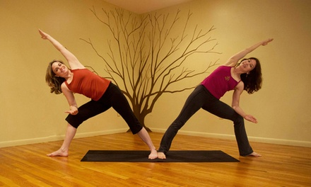 10 Yoga Classes or Two Months of Unlimited Yoga Classes at Liberty Yoga (Up to 80% Off)