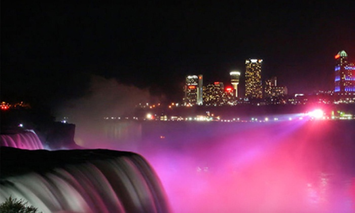Niagara Fun Tours - Multiple Locations: Holiday-Lights Tour of Niagara Falls for One, Two, or Four from Niagara Fun Tours (Up to 67% Off)