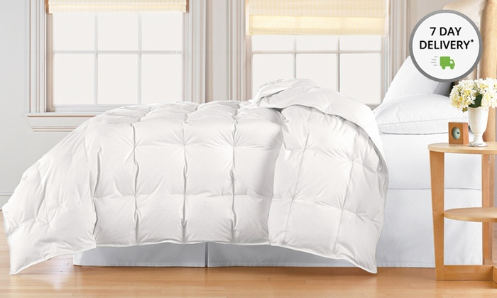 Royal Luxe Down-Blend Comforter: Royal Luxe Down-Blend Comforter. Multiple Styles. Free Returns.