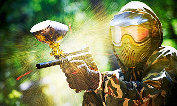 Wayne's World of Paintball - Ocala: All-Day Visit with Equipment Rental, Paintballs, and Air for Two or Four at Wayne's World of Paintball (Up to 58% Off)
