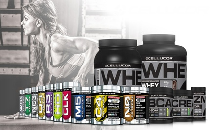 $9.99 for $20 Worth of Workout Supplements and Apparel from Cellucor