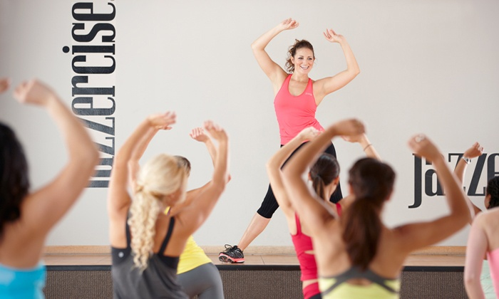 Jazzercise - Eugene: 10, 20, or 30 Dance Fitness Classes at Jazzercise (Up to 78% Off). Valid at All Participating U.S. Locations.