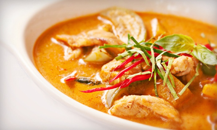 Thaitanic II Restaurant - Washington: $15 for $30 Worth of Thai Cuisine at Thaitanic II Restaurant