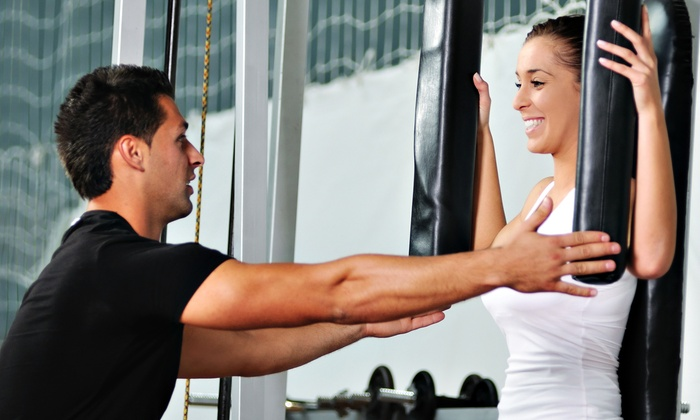 Express Fit - Teaneck: Four Personal-Training Sessions for One or Two at Express Fit (Up to 83% Off)
