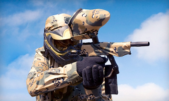 Operation Paintball - Hampshire: Paintball Outings for Two, Four, or Eight at Operation Paintball in Hampshire (Up to 62% Off)