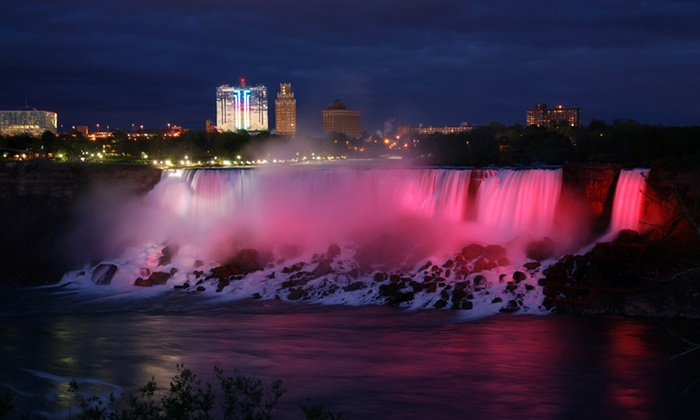 Four Points by Sheraton Niagara Falls Fallsview - Niagara Falls, ON: Stay with Family or Couples Package at Four Points by Sheraton Niagara Falls Fallsview in Ontario. Dates into September.