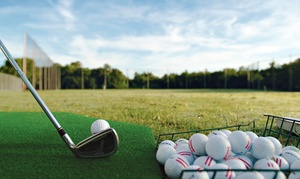 Maxwell Municipal Golf Course: $12 for Three Medium Bucket of Range Balls at Maxwell Municipal Golf Course ($24 Value)