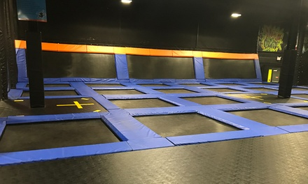 Two, Four, or Six 1- or 2-Hour Jump Passes at UpDown Trampoline Park (Up to 43% Off)