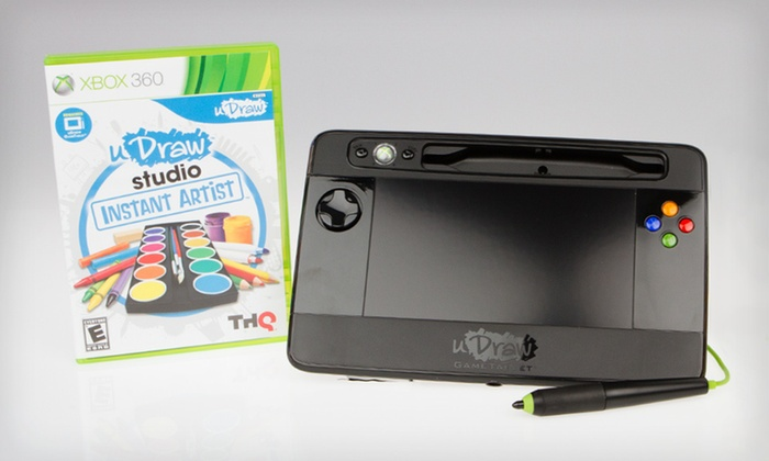 uDraw Game Tablet Bundles for Xbox 360: uDraw Game Tablet Bundles for Xbox 360 (Up to 58% Off). Three Options Available. Free Shipping and Free Returns.