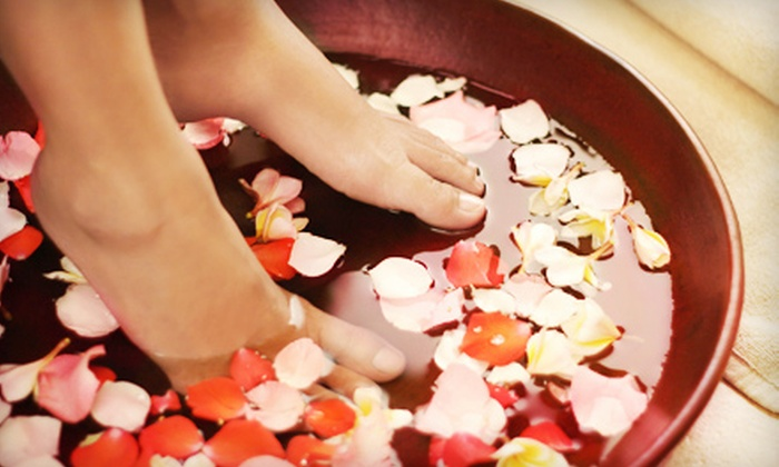 Afternoon Salon Nail and Spa - East Chastain Park: One Deep-Clean Pedicure or One or Two Green-Tea Pedicures at Afternoon Salon Nail and Spa (Up to 55% Off)