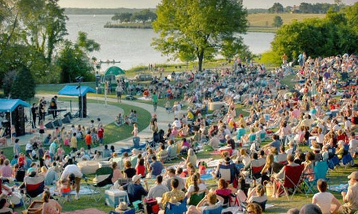 2013 Concerts at the Arboretum - Dallas: Choice of One of Five Concerts at the Arboretum Series at the Dallas Arboretum (Up to 60% Off)