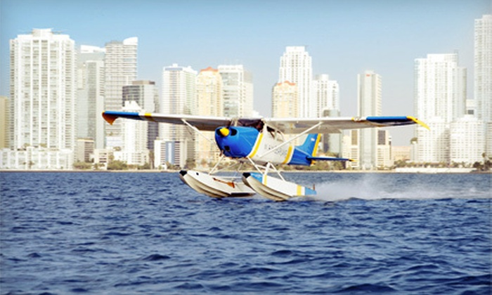 Miami Seaplane Tours - Key Biscayne: $75 for a 30-Minute Skyline Seaplane Tour from Miami Seaplane Tours in Key Biscayne ($150 Value)
