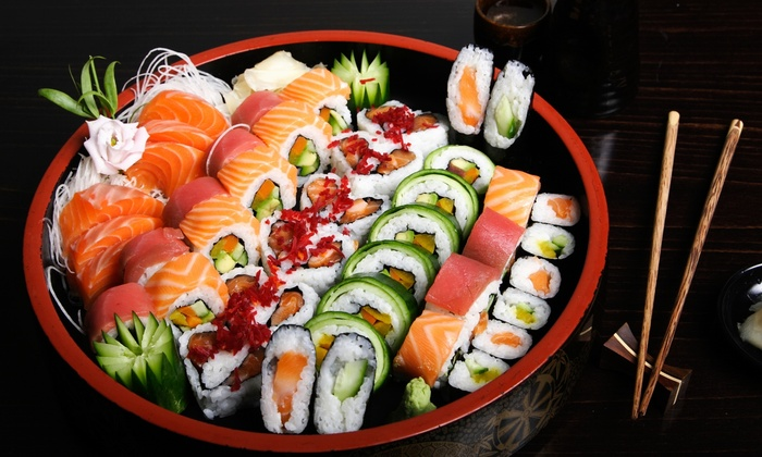 The Sushi Village - Baton Rouge: $12 for $20 Worth of Sushi and Japanese Food for Dinner at Sushi Village