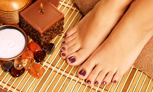 Liberty nail and beauty: Shellac Nails on Fingers or Toes (£9) or Both (£17) at Liberty, Oldham Road