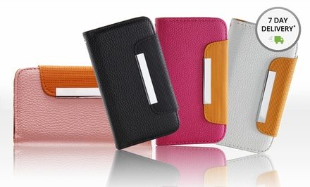 Color Accent Wallet iPhone or Samsung Galaxy Cases. Multiple Colors Available. Free Returns.