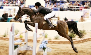 Arabian Horse Association: Scottsdale Arabian Horse Show for Two or Four from Arabian Horse Association of Arizona (Up to 50% Off)