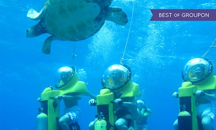 $109 for a Submarine-Scooter and Turtle-Watching Adventure from Island Water Sports Hawaii ($198 Value)
