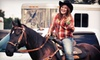 Lazy Star Horse Company - Eureka: Two or Four 45-Minute Horseback Riding Lessons at Lazy Star Horse Company (Up to 57% Off)