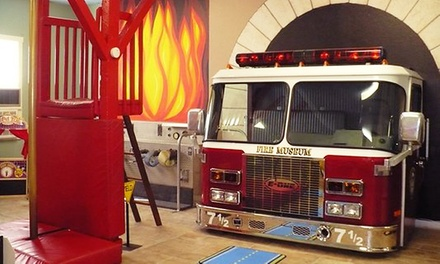 houston fire museum up to 40 off houston tx groupon. Black Bedroom Furniture Sets. Home Design Ideas