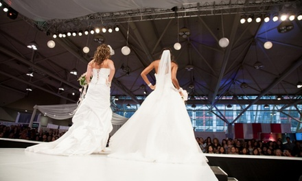 One-Day Admission for Two or Four to Canada's Bridal Show on September 5–7, 2014 (50% Off)