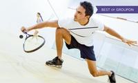 1x oder 3x 45 Min. Squash oder Badminton inkl. Saunabesuch für Zwei im Squash House (bis zu 47% sparen*)