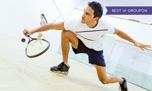 Squash House: 1x oder 3x 45 Min. Squash oder Badminton inkl. Saunabesuch für Zwei im Squash House (bis zu 47% sparen*)