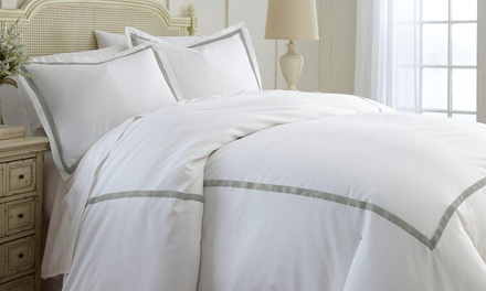 Italian Hotel Collection 600TC 4-Piece Comforter Sets with Removable Duvet Covers Available from $69.99—$74.99
