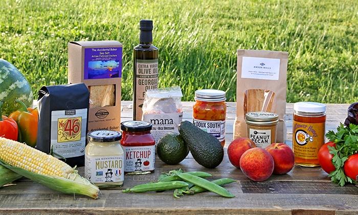 Box of Organic Produce - Nature\'s Garden Express-DUPE | Groupon