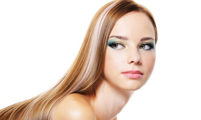 Vella Hair @ Ciros Italian Barber Shoppe - Selden: Express Keratin Treatment or Regular Keratin Treatment at Vella Hair at Ciros Italian Barber Shoppe (Up to 62% Off)