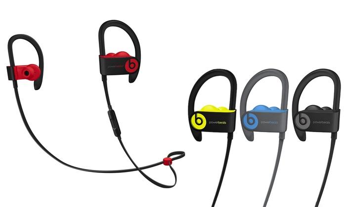 Beats By Dre Powerbeats 3 Wireless In Ear Headphones A Grade Refurb Groupon