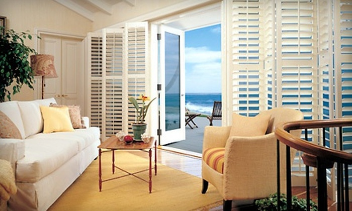 The Blind Guys - South Harrison: $79 for $300 Worth of Custom Hunter Douglas Shutters and Window Treatments from The Blind Guys