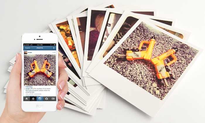 25 prints for instagram pictures | groupon goods