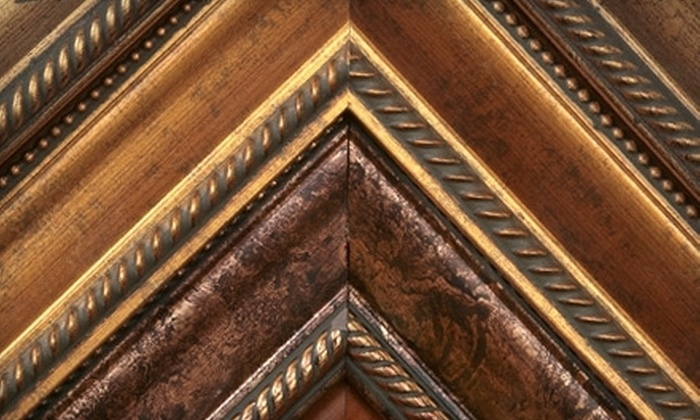 Mat About You - Ellicott City: Custom Framing at Mat About You (60% Off). Four Options Available.
