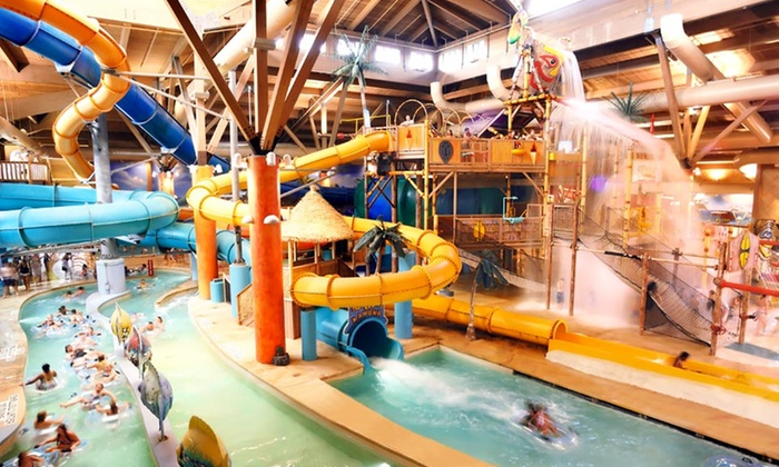 Splash Lagoon - Summit: 1-Night Stay at Your Choice of Three Hotels with Water-Park Passes to Splash Lagoon in Erie, PA