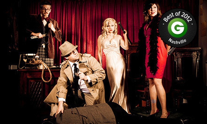 The Murder Mystery Company - Nashville-Davidson metropolitan government (balance): Dinner Show for One or Two from The Murder Mystery Company (Up to 52% Off)