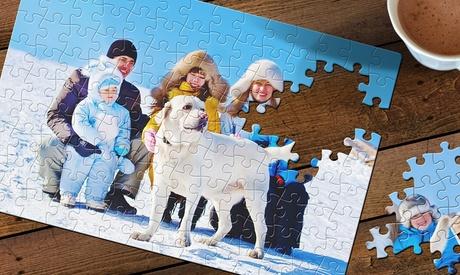1 o 2 puzzles de cartón personalizable en Printerpix (ES)