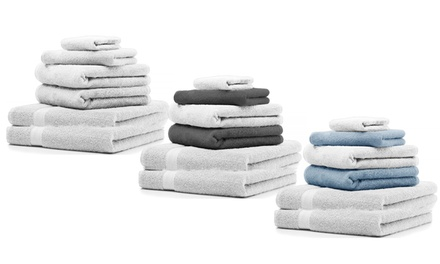 Set 6 asciugamani in spugna