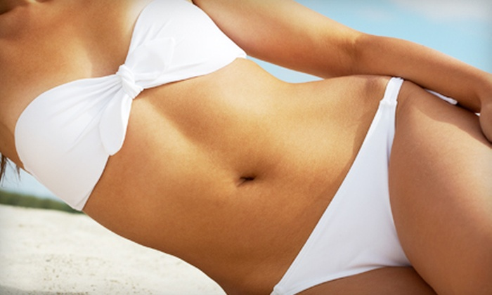 Planet Beach Contempo Spa - Multiple Locations: Two, Four, or Six Level 1 Mystic Spray Tans at Planet Beach Contempo Spa (Up to 74% Off)