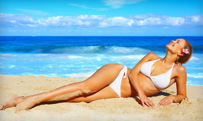 Miami Tan - Chatsworth: One or Three Custom Organic Airbrush Tans at Miami Tan in Northridge (Up to 59% Off)