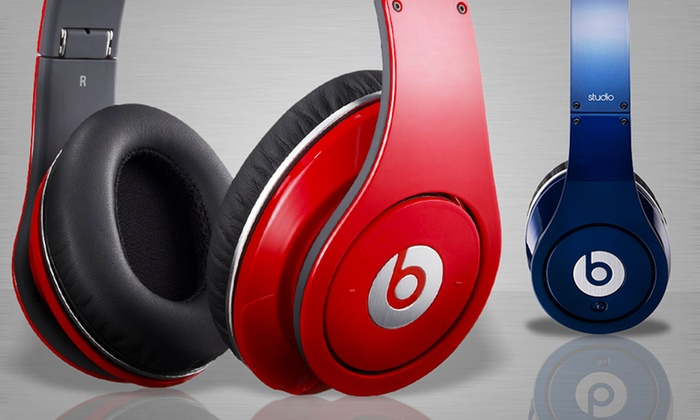 199 99 For Beats By Dr Dre Beats Studio Over The Ear Headphones Groupon