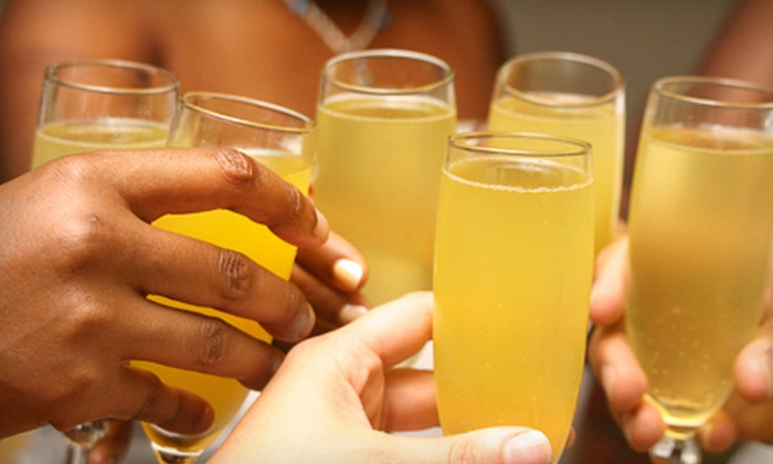 St. Clair Winery & Bistro - West Old Town: $12 for Two Mimosa Flights with Commemorative Glasses at St. Clair Winery & Bistro ($24 Value)