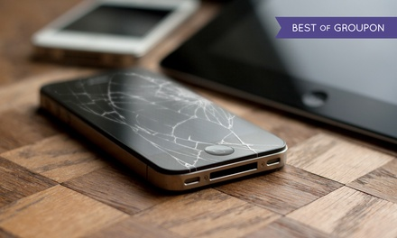 Glass Screen Protection or Repair for iPhone or iPad at uBreakiFix (Up to 67%Off). Four Options Available.