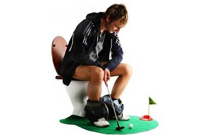 7-Piece Potty Golf Set with Putter