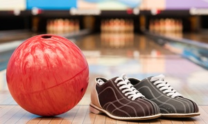 Royal Lanes: Three Games of Bowling, Shoe Rentals, Pizza, and Soda for Two or Four at Royal Lanes (Up to 50% Off)
