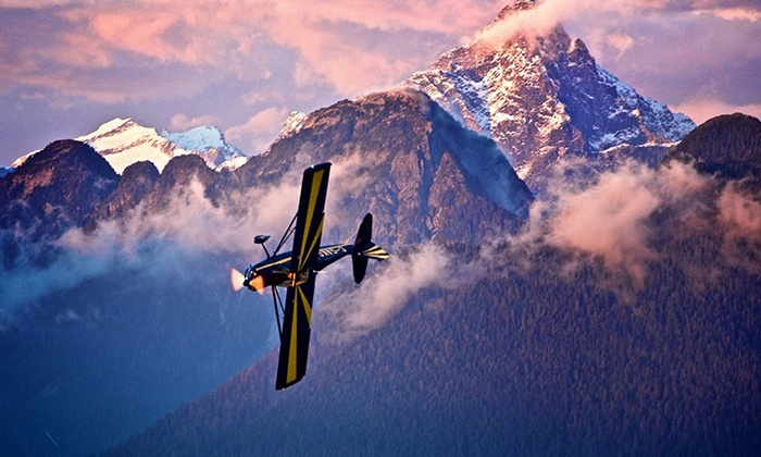 Canadian Flight Centre - Tranquille: Discovery Flight and Lesson, or Private Pilot Starter Package at Canadian Flight Centre (Up to 55% Off)