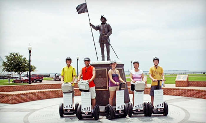 Emerald Coast Tours - Downtown: $30 for a History-Based, Two-Hour Segway Tour of Pensacola from Emerald Coast Tours (Up to $65 Value)