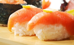Naomi Sushi: $25 for $40 Worth of Sushi and Japanese Cuisine at Naomi Sushi
