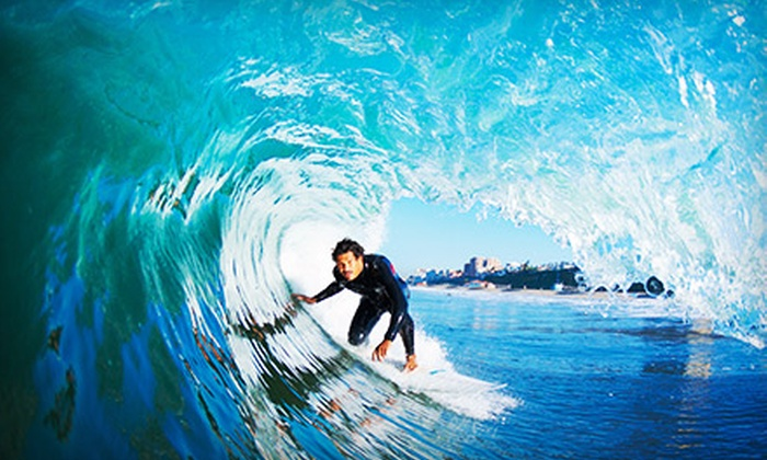 Malibu LongBoards Surf School - Ocean Park: Two-Hour Surfboard and Wetsuit Rental or Two-Hour Surfing Lesson at Malibu LongBoards Surf School (Up to 58% Off)
