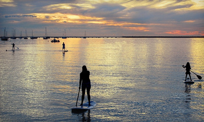 Step Into Liquid - Oyster Bay: Two-Hour Guided Standup Paddleboard Tour for One or Two from Step Into Liquid (Up to 59% Off)